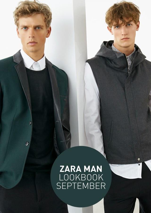Zara Man, Lookbook