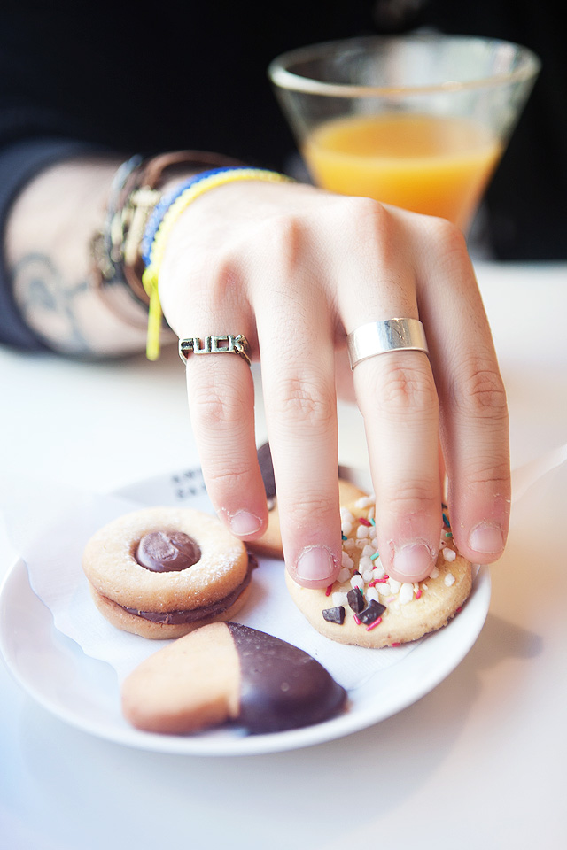 Fashion blogger, Jewelry, Accessories, Born Pretty Store, Multilayer Bracelets, FUCK Ring