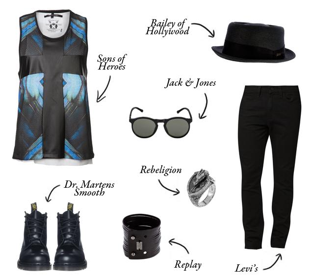 consigli, wishlist, zalando, cuponation, sconti, gothic, gotico, dark, moda, moda uomo, men, man, men fashion, man fashion