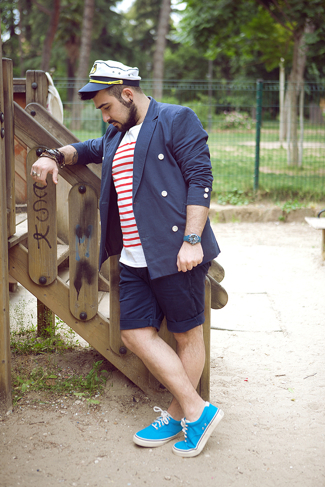 fashion blogger, outfit, guy overboard, fashion blog, mens fashion, style men, look of the day, sperry-top sider, h&m, zerottouno, bornprettystore, fossil, ottaviani, watch, orologio