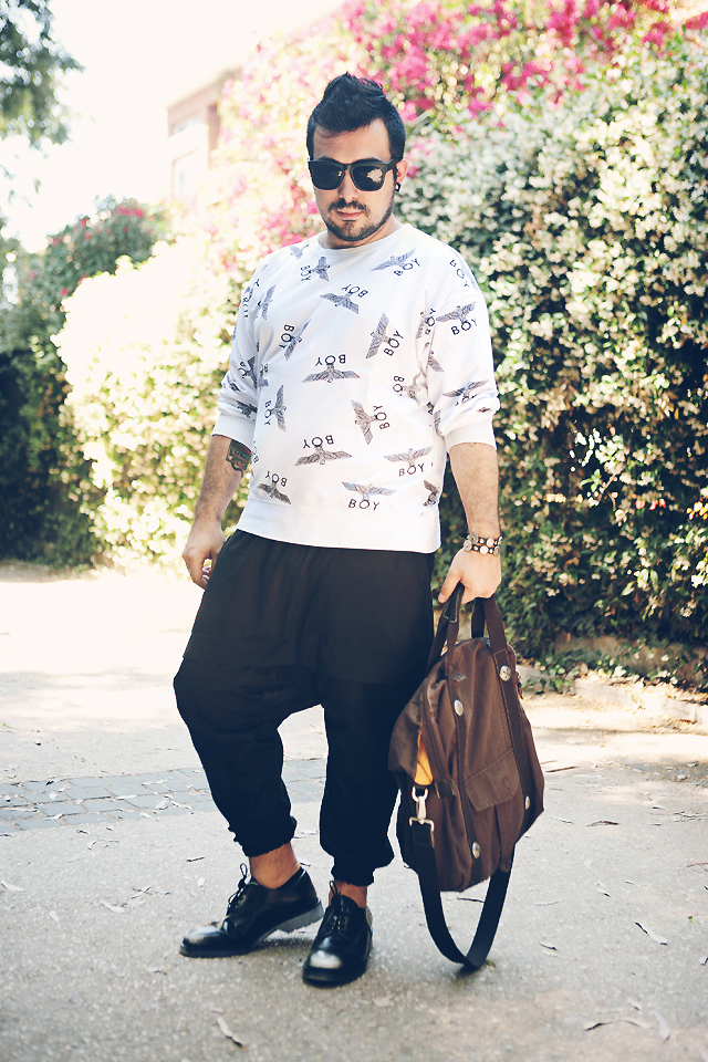 roi, roi style, cult, cult shoes, boy london fashion blogger, outfit, guy overboard, fashion blog, mens fashion, style men, look of the day