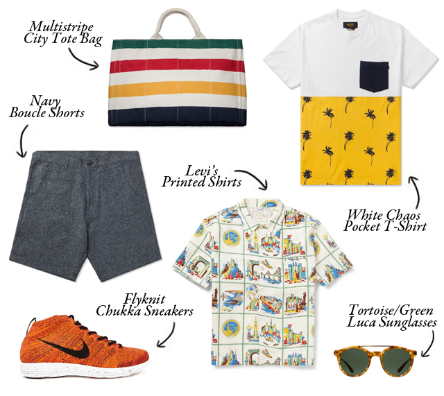 A wishlist of essential clothing for your summer: discover what a men summer fashion must include
