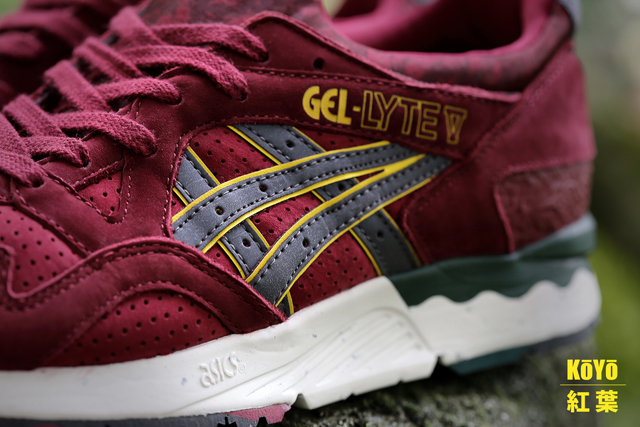 sneakers, asics, gel lyte v, koyo, tgwo, the good will out, scarpe