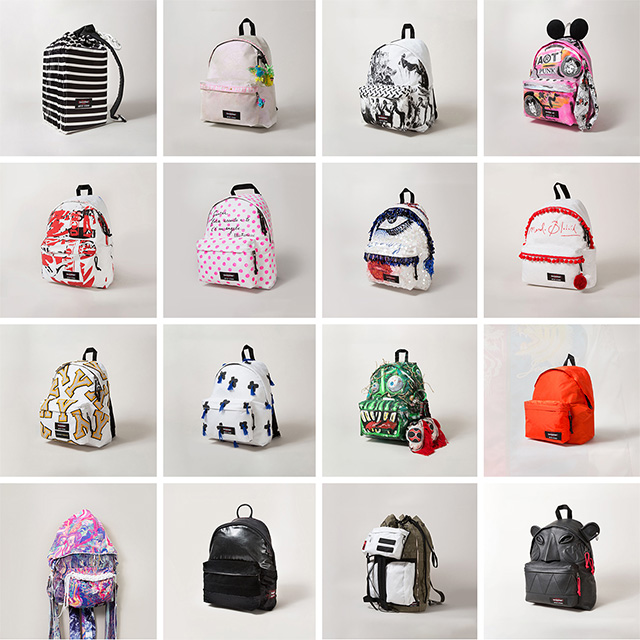 a0f2cc2ff9 Eastpak Artist Studio - Designers Against Aids 2014 • Guy Overboard ...