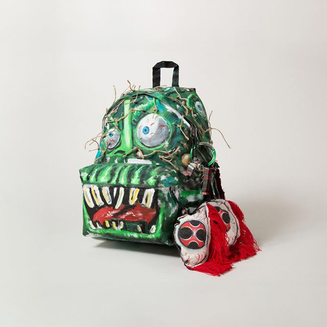 eastpak, artist studio, designers, aids, hiv, backpack, zaino, manolo blanik, jean paul gaultier, henrik viskov, scooter laforge, christopher lee sauvè, elio fiorucci