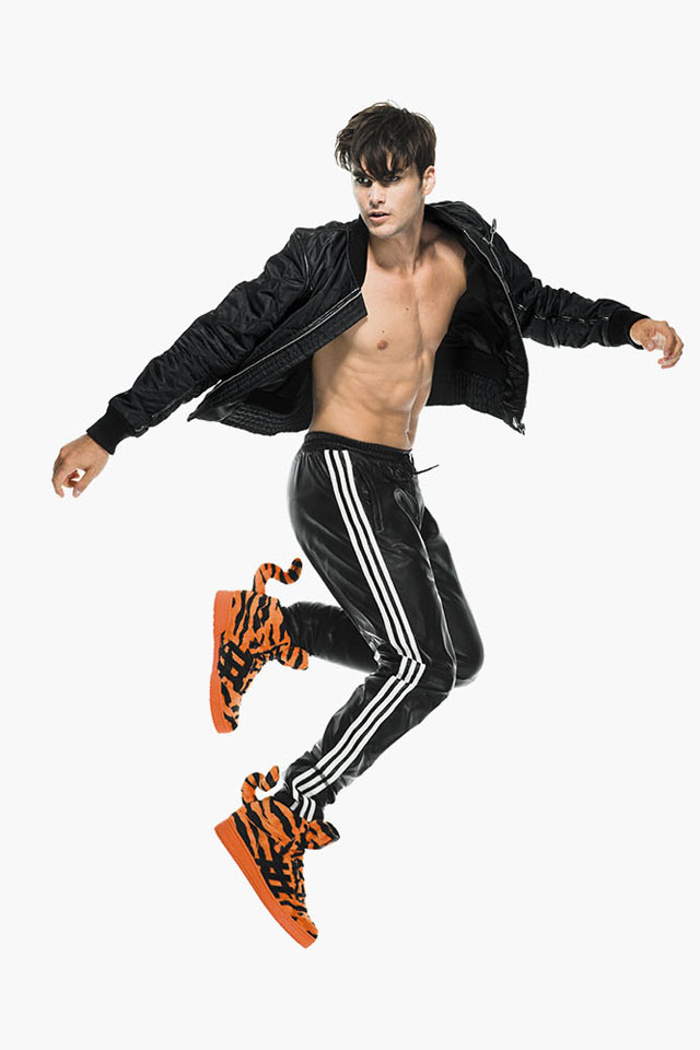 fashion blogger uomo, guy overboard, men fashion, fashion blogger roma, jeremy scott, adidas original, fall winter 2014, fw2014, collection, wings, cutout, molded, tiger