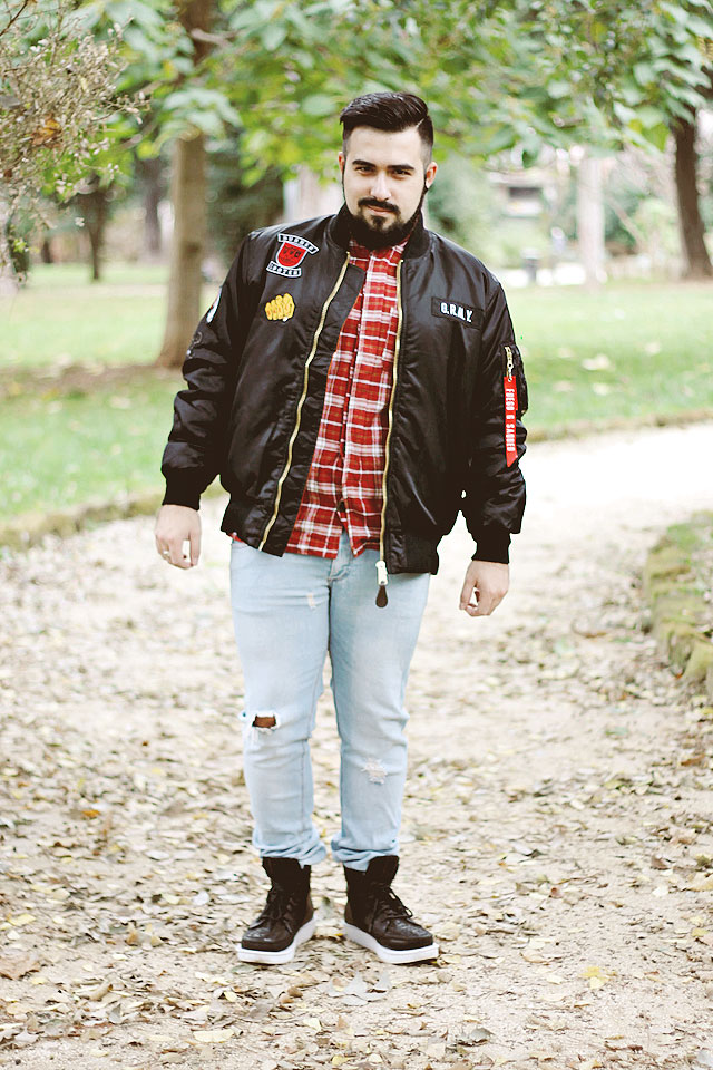 fashion, uomo, bomber, grimey, grmy, hoodboyz, street, hip hop, outfit, blogger, guy overboard, men, man