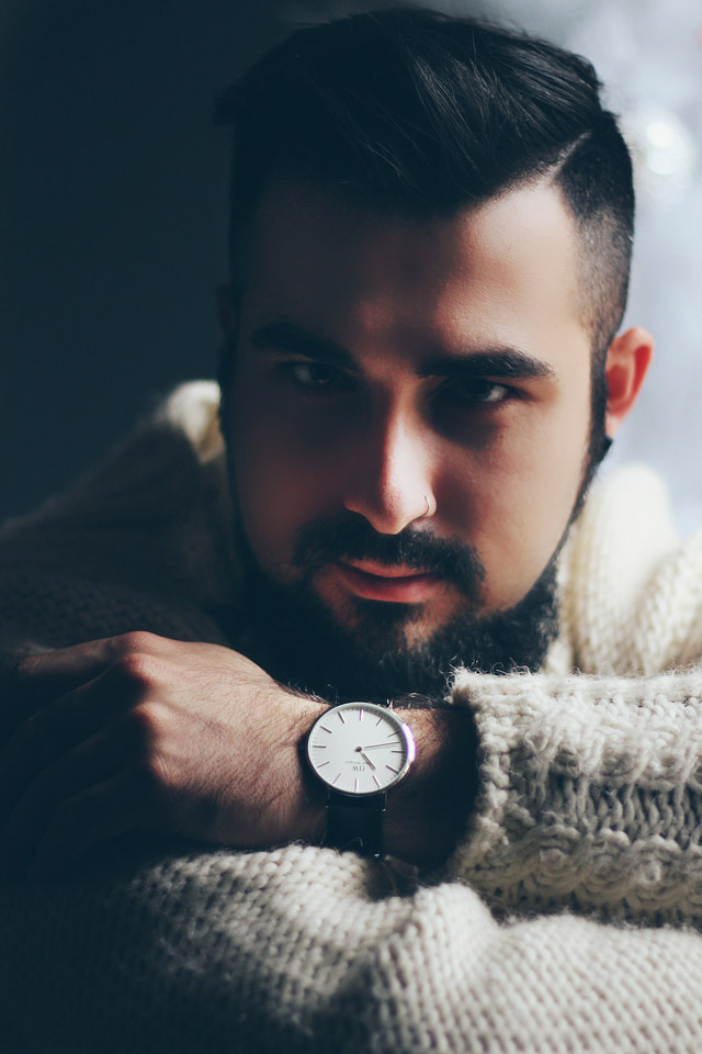daniel wellington, orologio, watch, codice sconto, fashion blogger, preppy, classic, sheffield, silver, argento, natale, regalo uomo, christmas, men present