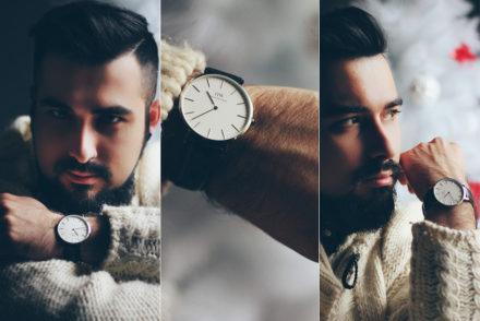 daniel wellington, orologio, watch, codice sconto, fashion blogger, preppy, classic, sheffield, silver, argento, natale, regalo uomo, christmas, men present