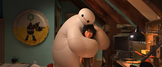 big hero 6, disney, natale, flavio insinna, virginia raffaele
