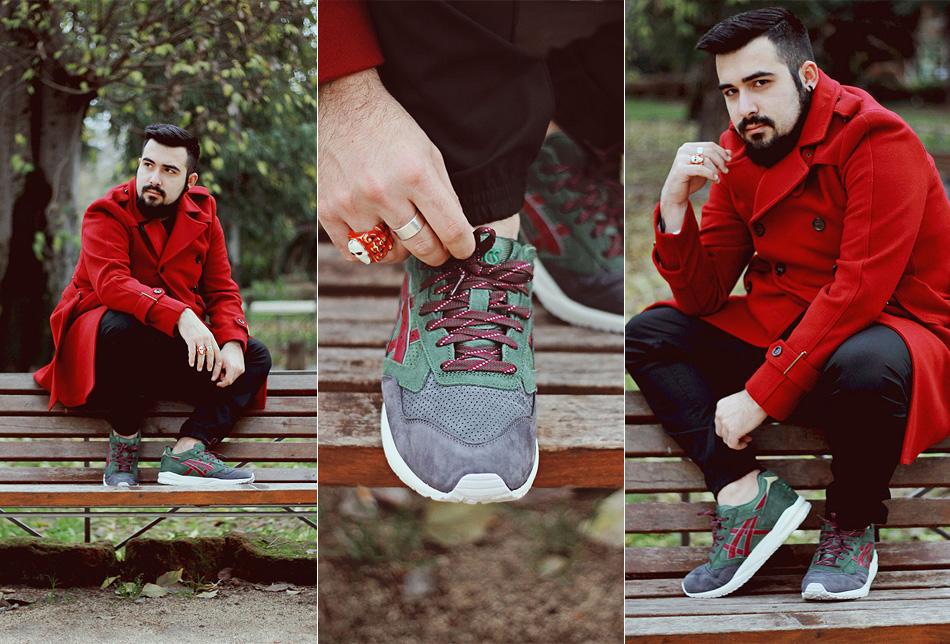asics, xmas pack, gel saga, sneakers, scarpe, fashion, blogger uomo, guy overboard, roma, riccardo onorato