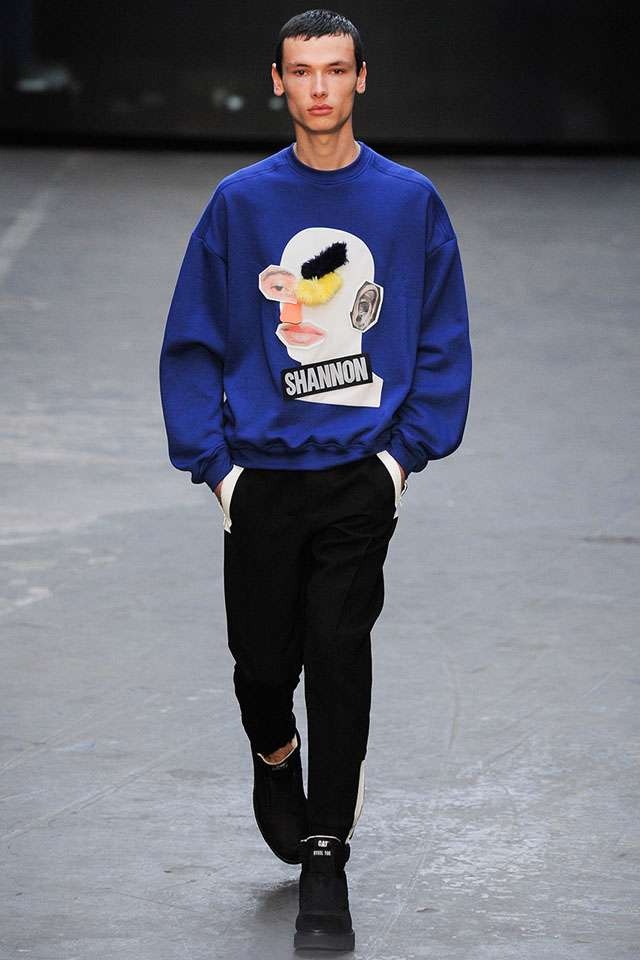 london fashion week, fall winter 2015, collection, christopher shannon