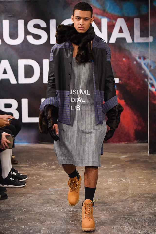 london fashion week, fall winter 2015, collection, shaun samson
