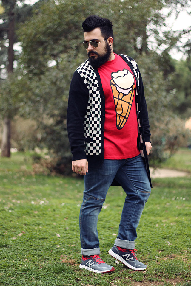 Outfit, Fashion blogger uomo, New Balance, Maratona di Roma, 1980 Zante, Billionaire Boys Club Ice Cream, Rigin, DGNAK