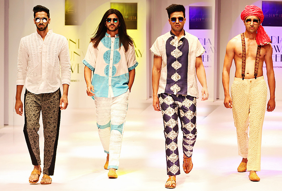 Edenfista has presented a new Spring/Summer 2015 collection during the India Runway Week of April 11th