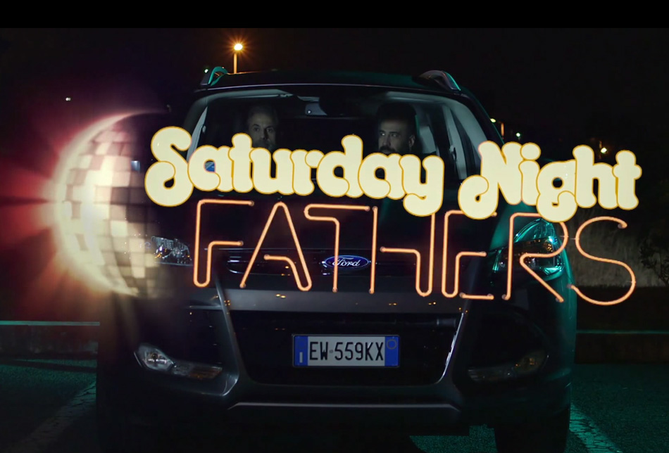 papà, Saturday Night Fathers, ford kuga, corriere della sera, web-series