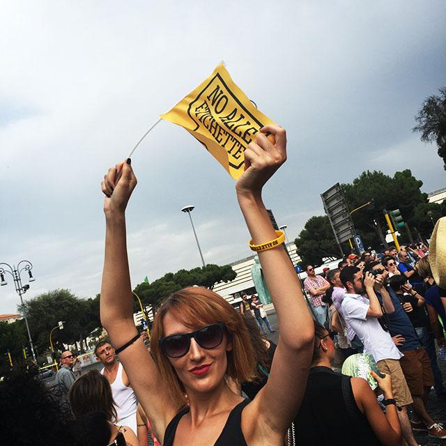 roma pride 2015, ceres, no alle etichette