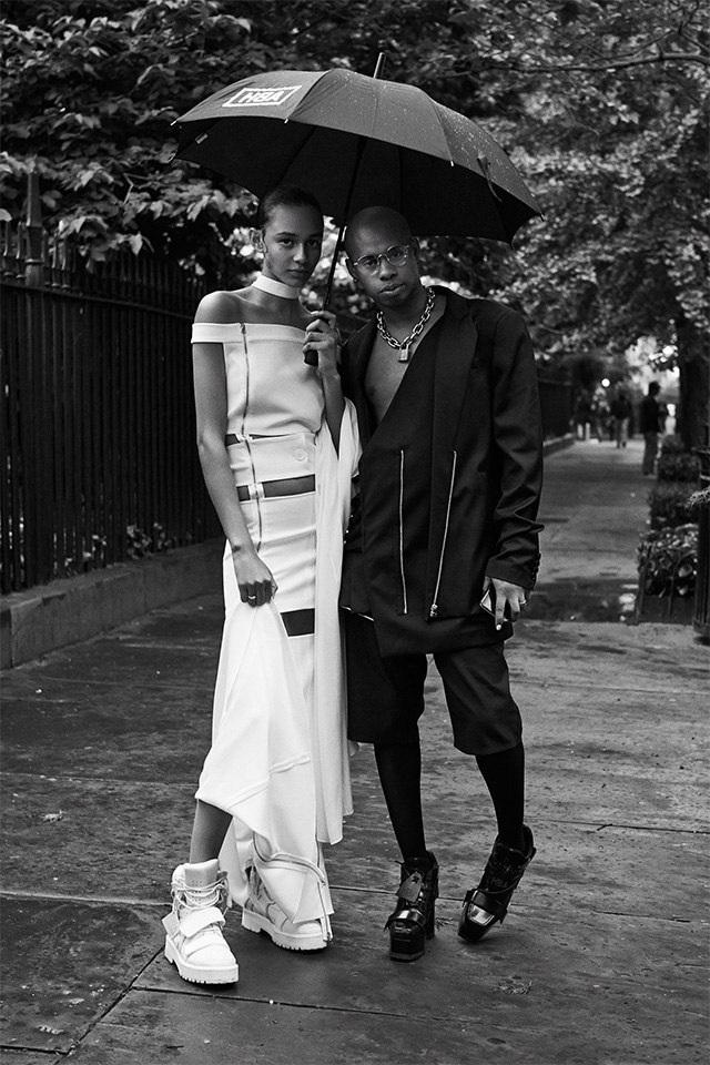 cfda fashion awards, Shayne Oliver, Binx Walton, Hood By Air