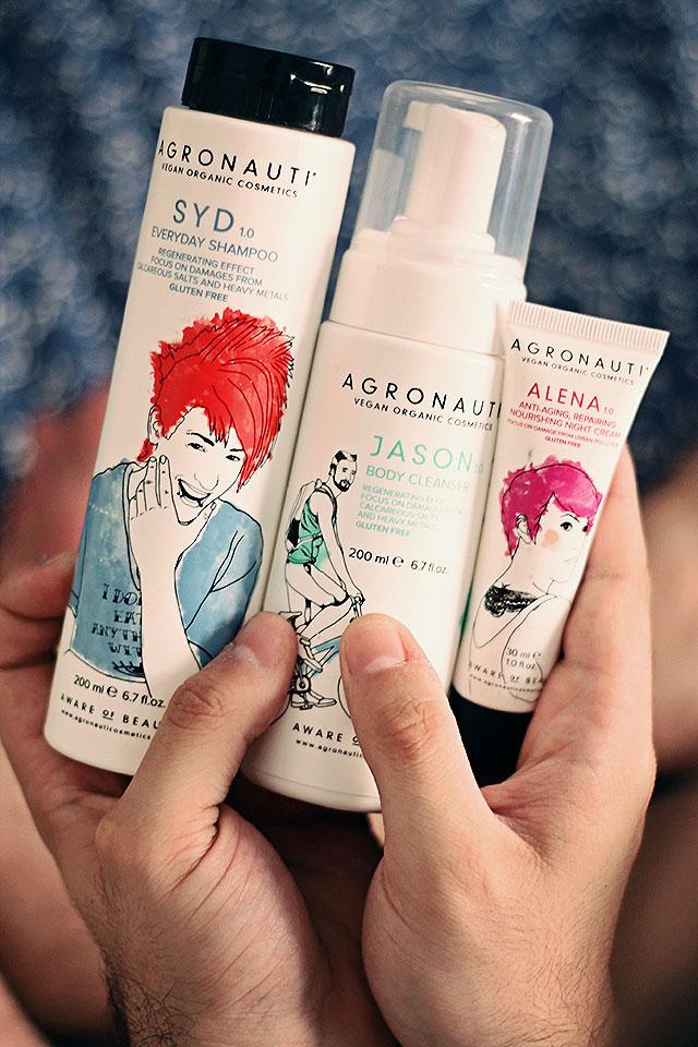 agronauti, vegan, cosmetici vegani, syd shampoo, jason body cleanser, alena anti-aging repairing cream