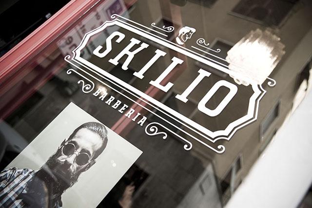 skilio, barberia roma, barba roma, capelli uomo roma, old style, vintage