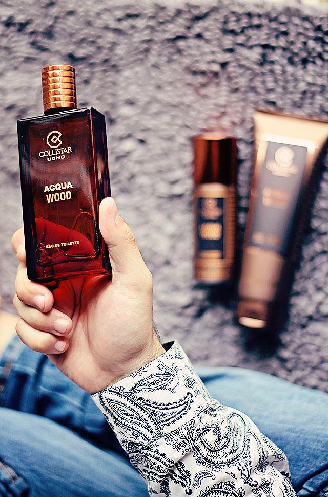 acqua wood, collistar uomo, eau de toilette acqua wood, docchia shampoo acqua wood, deodorante acqua wood