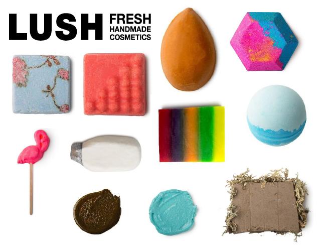 lush, fresh cosmetics, oxford street, prodotti doccia, esfoliante mani, bomba da bagno, saponi lush, maschera viso