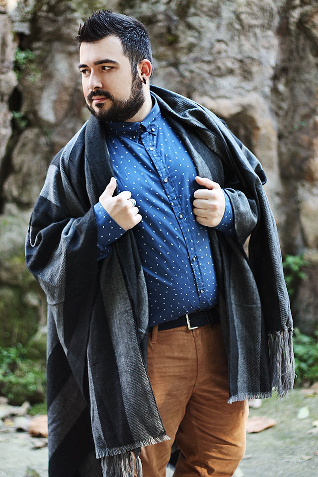 kiabi, guy overboard, fashion blogger uomo, fashion blogger roma, outfit, look plus-size, abbigliamento plus-size, natale 2015
