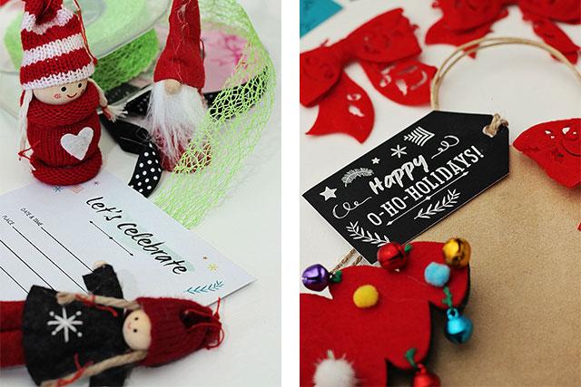 Favorito Etichette regali e inviti di Natale fai da te - Troppotogo • Guy  TG43
