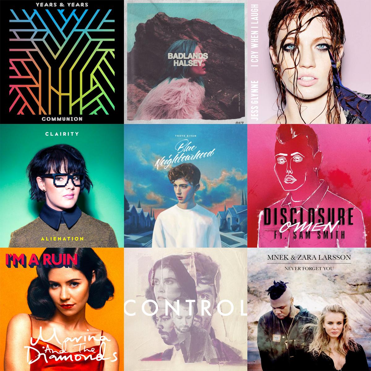 This is my 2015 best nine in music! Ossia le canzoni del 2015 che riascolterò volentieri anche nel nuovo anno.