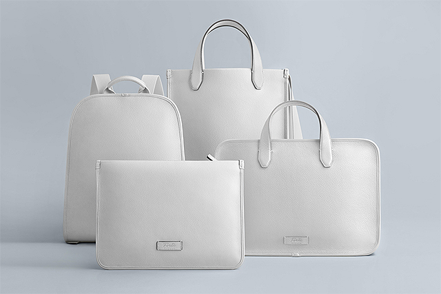 fortu milano, peter white, aldo bag, jean pouch, raphael backpack, renzo briefcase