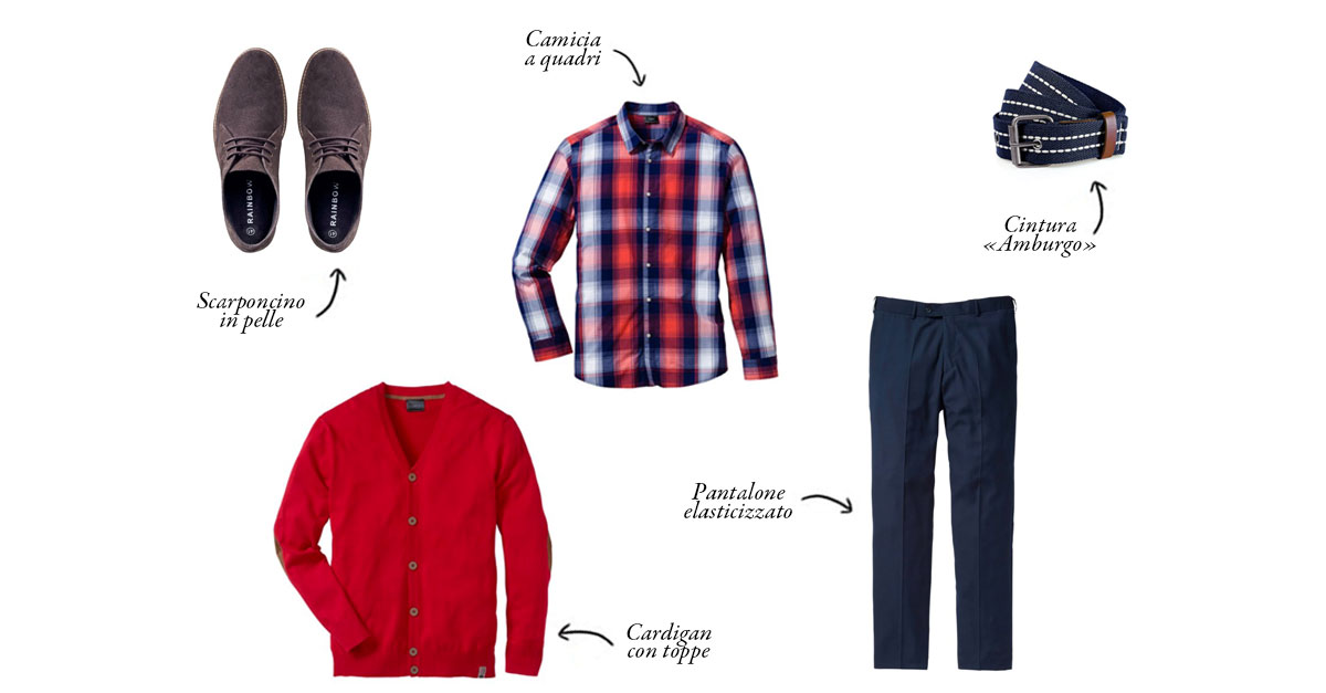 Quest'anno nella calza della Befana potete sostituire ai dolci e al carbone dei capi di abbigliamento maschile di Bonprix