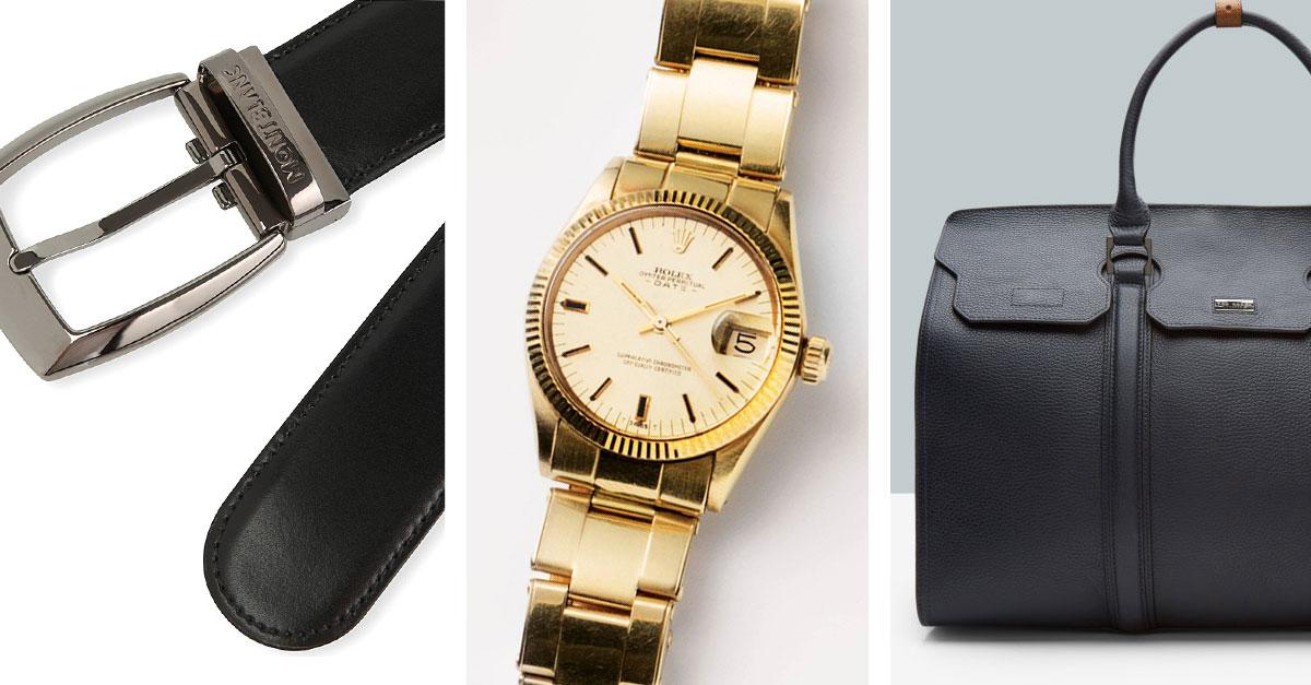 Una lista di accessori di lusso utili, costruiti per durare nel tempo e adatti con qualsiasi tipo di abbigliamento, che ogni uomo dovrebbe possedere