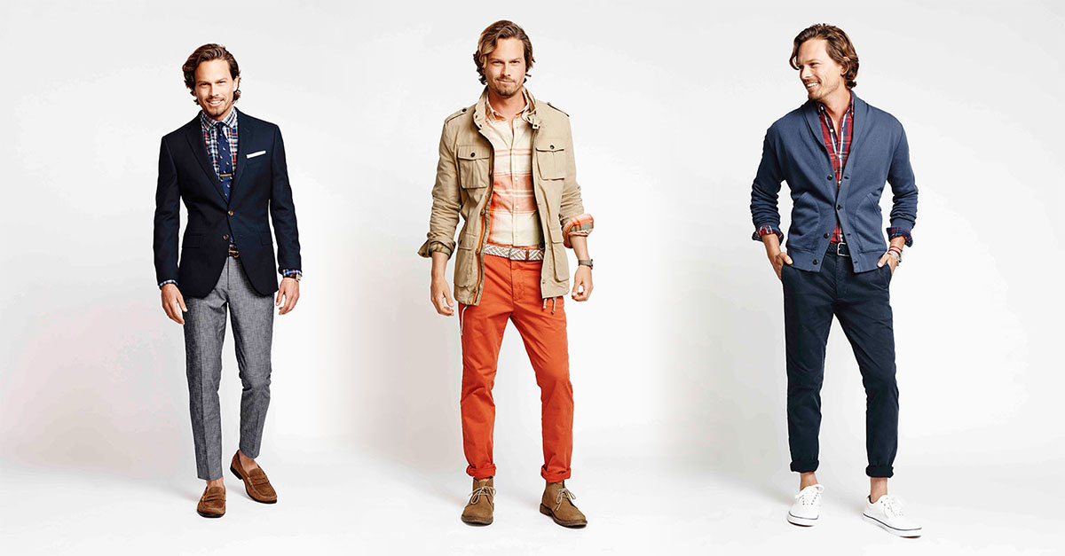 Dockers presents its slim fit pants, a modern and contemporary fit ideal for a gift to your partner on his birthday