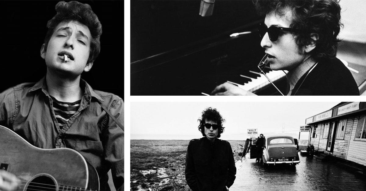 La magia dello stile di Bob Dylan nel vostroguardaroba diogni giorno grazie a pochi pezzi chiave dellamoda uomoEsprit, compresi gli occhiali Wayfarer
