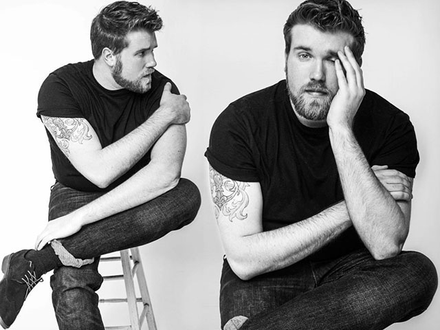 zach miko, modello plus size, img models, man plus size model, brawn