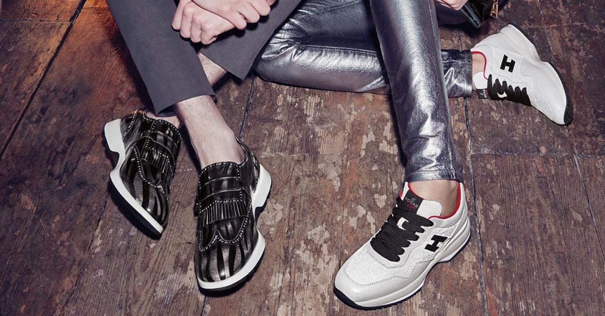 Da sempre le scarpe Hogan sono sinonimo di qualità. Tra le varie collezioni Interactive, l'icona del marchio, ha cambiato la percezione delle sneakers