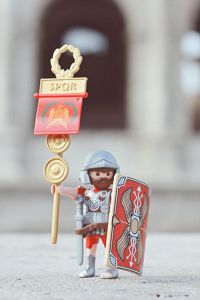 playmobil, legionario romano, edizione limitata roma playmobil