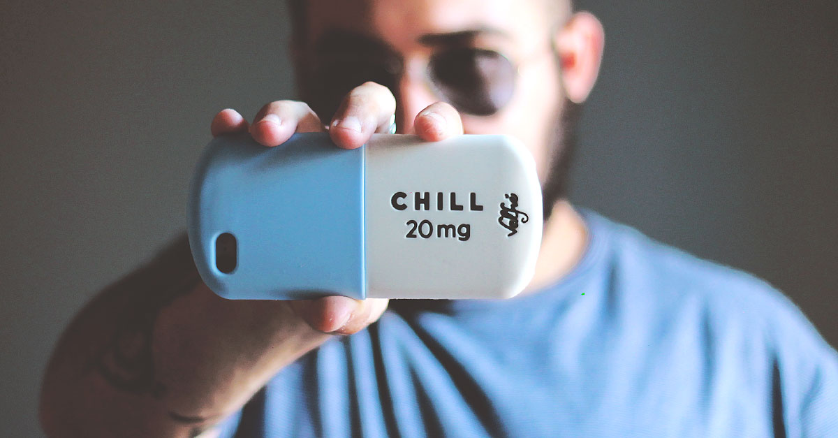 cover 3d iphone6 silicone, valfrè case chill 20mg
