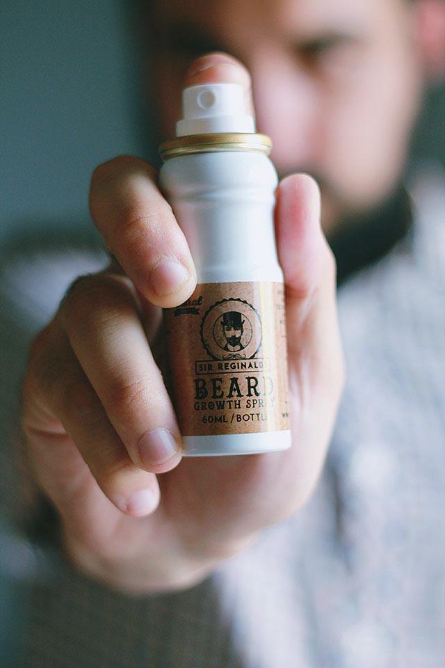 Prodotti barba Sir Reginalds, Olio barba, Crescita barba, Pettine barba, Tagliapeli naso orecchie