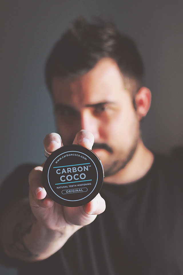 Carbon Coco, Actived Charcoal Tooth Polish, Bamboo Charcoal Toothbrush