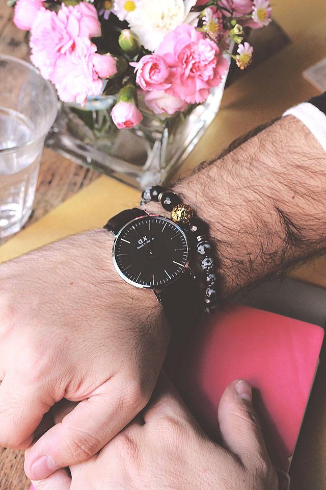 orologio, daniel wellington, classic black