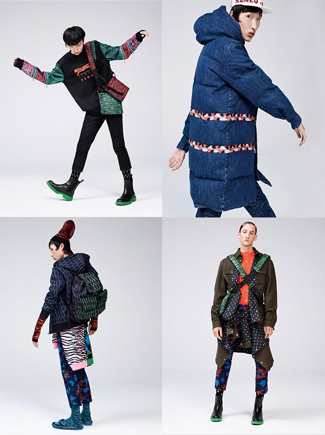 Capsule collection uomo Kenzo HM
