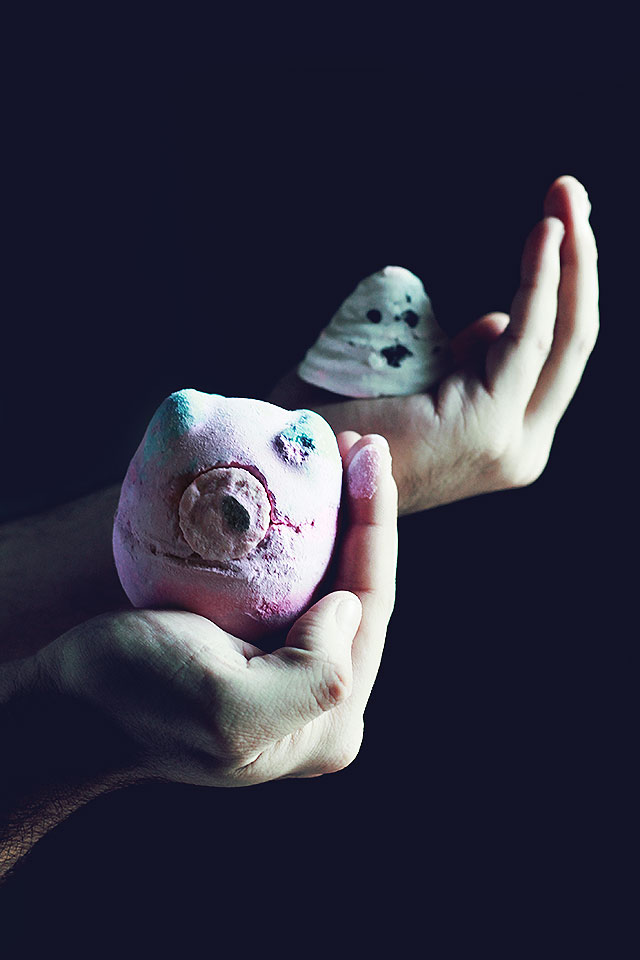 Lush Halloween, Bomba da bagno Monster's Ball, Fantasmino Boo
