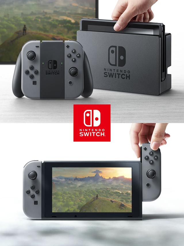 nintendo switch, nx console, joy con