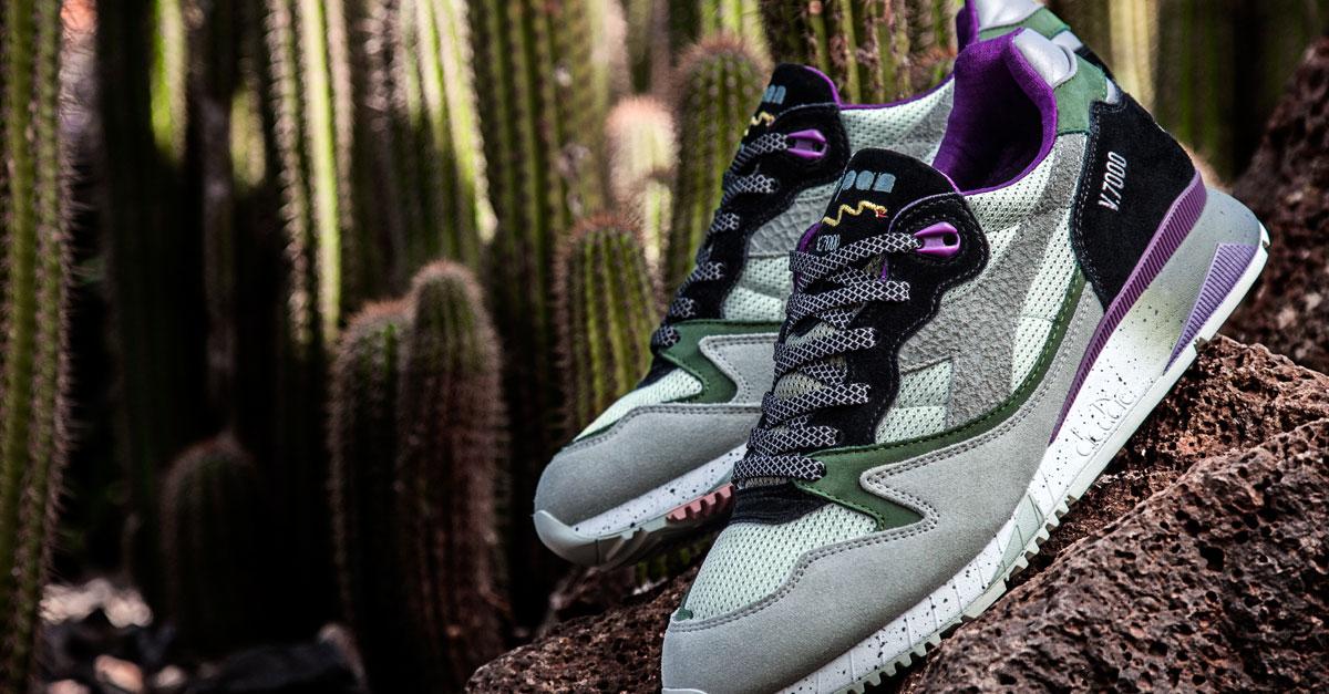 Diadora celebra il 15esimo anniversario di Sneaker Freaker con il lancio dell' esclusiva versione Taipan dell'iconica scarpa Sportswear, la V7000