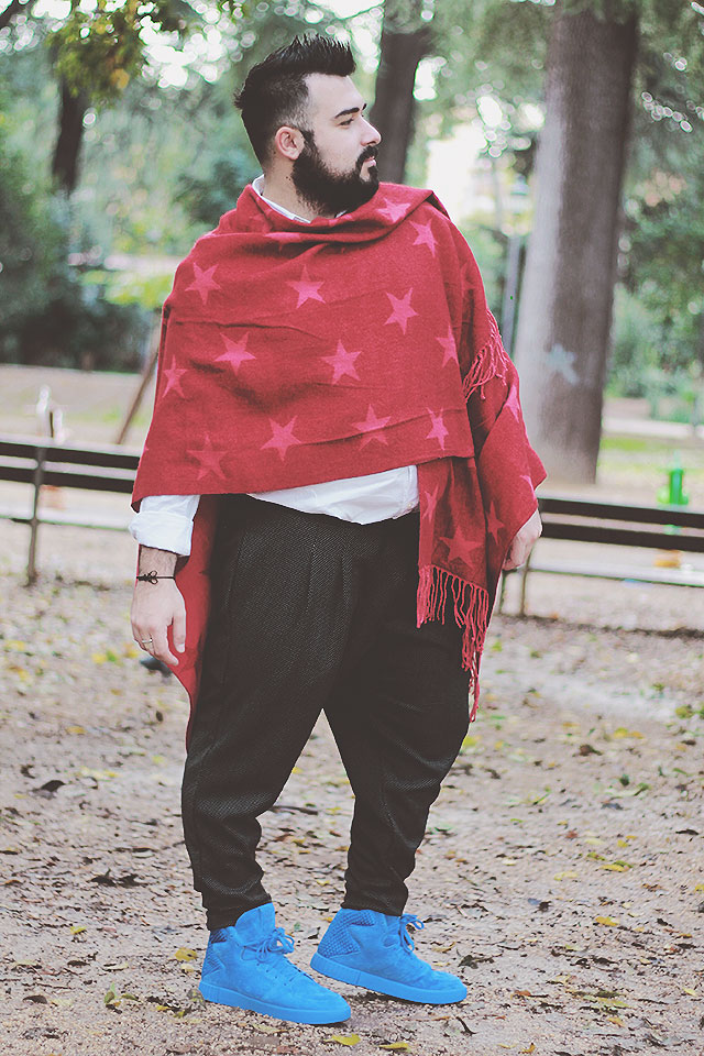 Conosciuto Winter 2016: Zaful men shawl • Guy Overboard | Plus Size Fashion  XB87