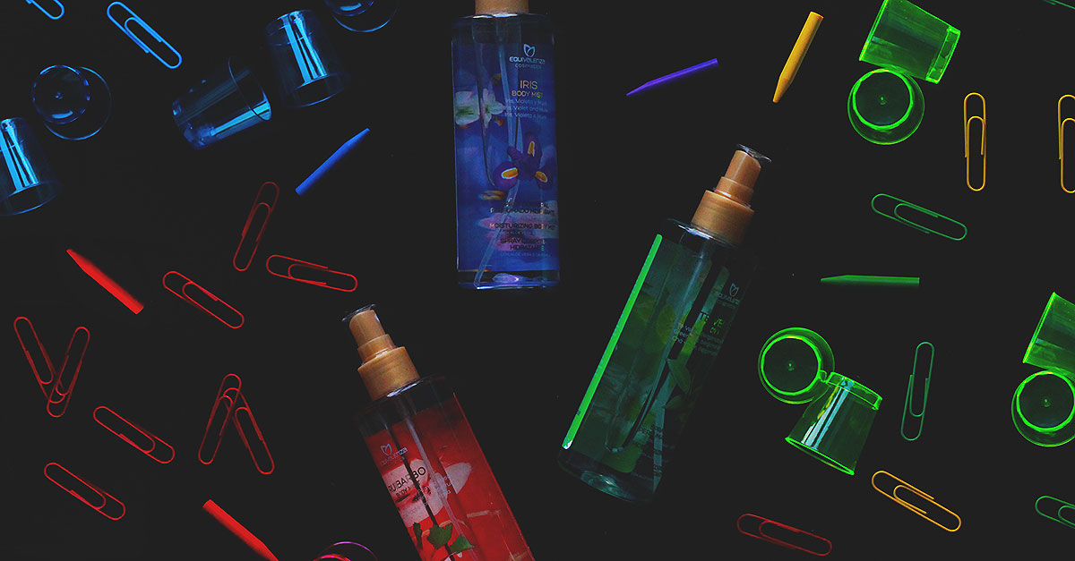 Lo spray corpo profumato Body Mist di Equivalenza ha un'alta concentrazione di essenza per massimizzare l'impatto e l'effetto del proprio profumo