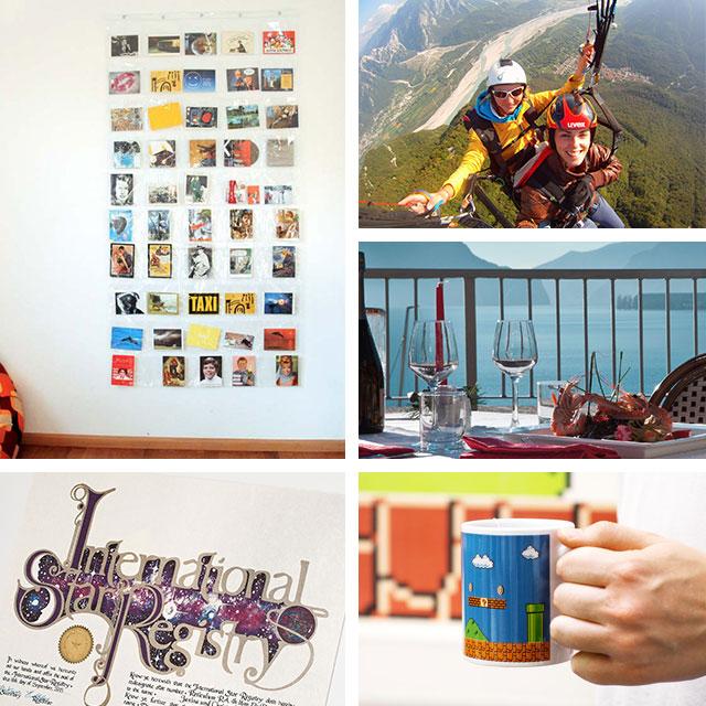 san valentino, tazza super mario, trekking, regalo portafoto, registro stella