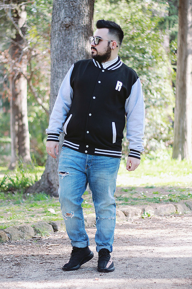 custom varsity college jacket, personalized gift meswear, gift ideas for him