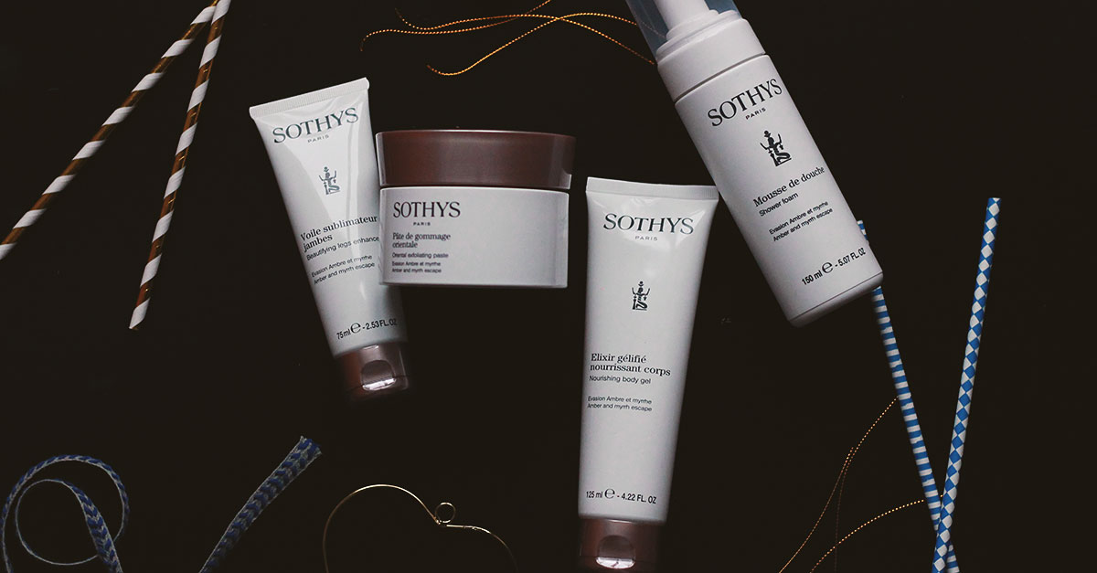 The Soin Sensations Orientales treatment by Sothys is inspired by ancestral rites: a pre-exfoliation to prepare the body and a modelage to nourish the skin